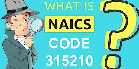 NAICS CODE  to do business with the government tickets