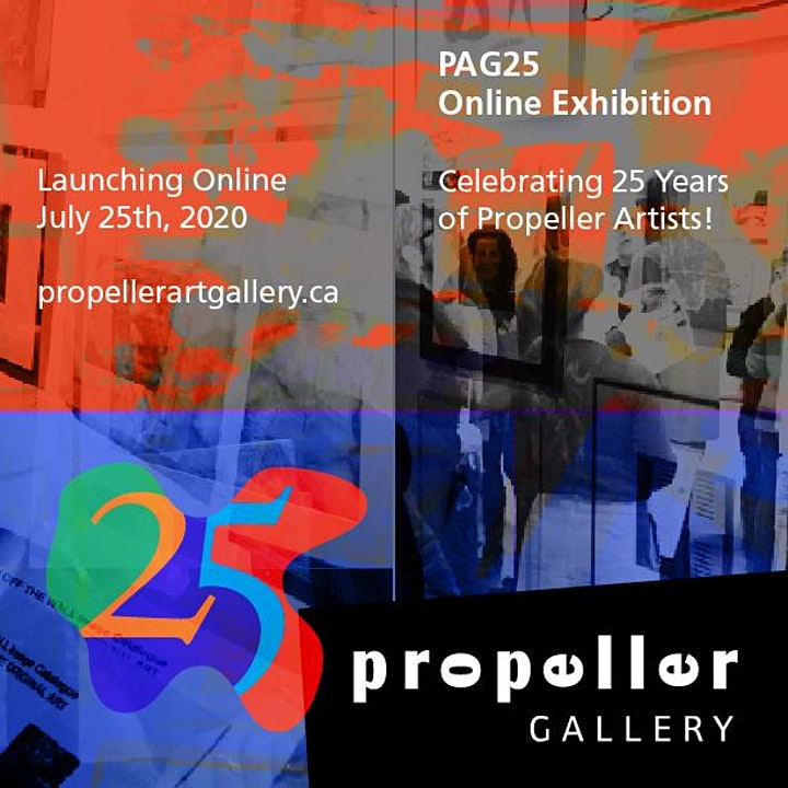 Propeller Art Gallery PAG 25 Zoom Opening Reception & Artists' Talks image