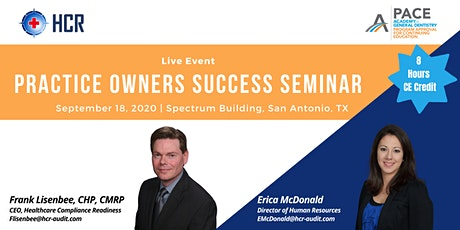 Practice Owners Success Seminar tickets