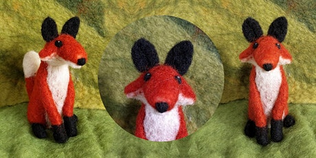 Learn to Needle Felt a Woodland Fox tickets