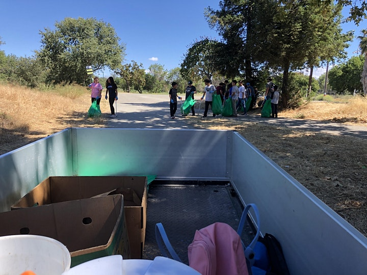 Trail Cleanup at Guadalupe River Park - First Wednesday image