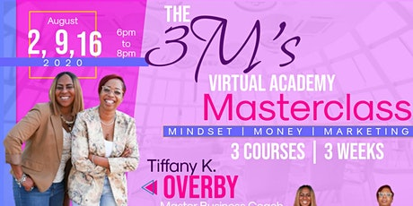 The 3M's Virtual Academy Masterclass tickets