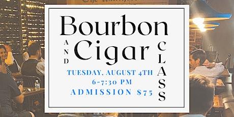 Bourbon Tasting and Cigar Class tickets