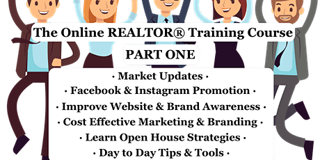 PART 1 Outside BC REALTOR®Training Course 3HRS tickets