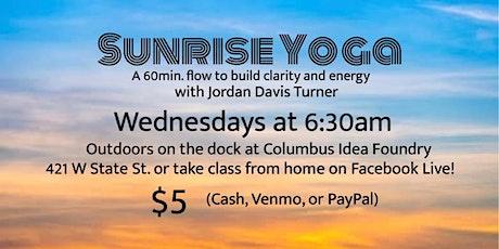 Outdoor Sunrise Yoga tickets