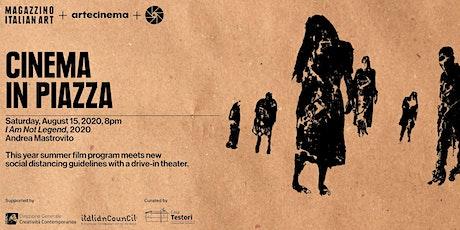Cinema in Piazza: Andrea Mastrovito's I Am Not Legend tickets