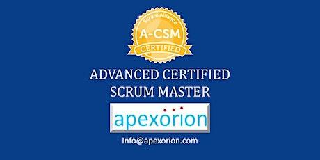 GUARANTEED! A-CSM ONLINE (Advanced CSM) - August 20-21, Santa Clara, CA tickets