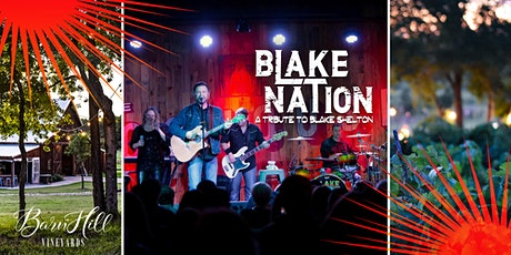 Blake Nation, Great Texas Wine, and HUGE Texas skies! tickets