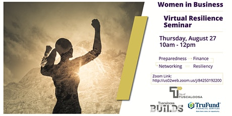 Women in Business - Virtual Resilience Seminar tickets