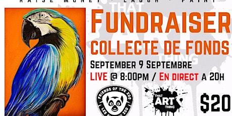 Friends of the Moncton Zoo Paint Night Fundraiser/Collecte de fonds tickets