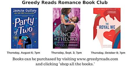 Romance Book Club - September 2020 tickets