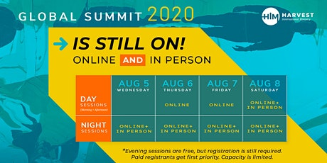 Global Summit 2020: Equipping World Leaders for Revival & Reformation tickets