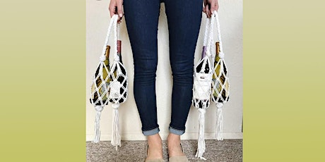 Macramé Wine Tote: Sip and Craft at Magnanini Winery tickets