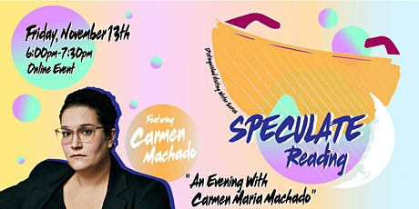 An Evening with Carmen Maria Machado tickets