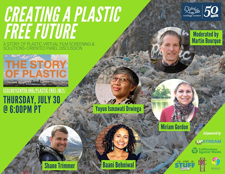Story of Plastic Private Screening & Plastic-Free July Panel Discussion image