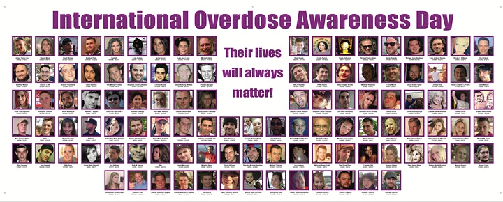 6th Annual International Overdose Awareness Day Event & Vigil image
