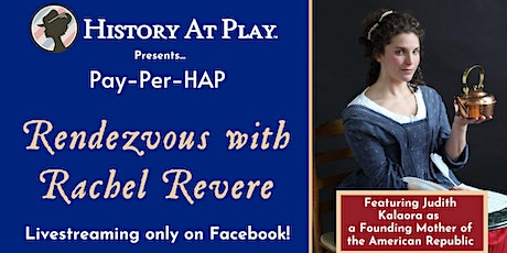 """Pay-Per-HAP """"Rendezvous with Rachel Revere"""" Watch Party tickets"""