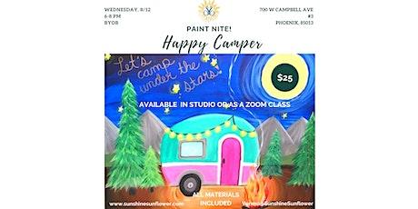 Paint Night! Happy Camper 8/12 tickets