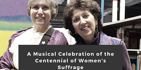 A Musical Celebration of the Centennial of Women's Suffrage tickets