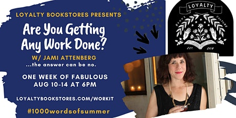 Are You Getting Any Work Done? w/ Jami Attenberg: Esme Weijun Wang tickets