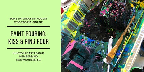 Paint Pouring: Kiss Pour & Ring Pour [Online] tickets