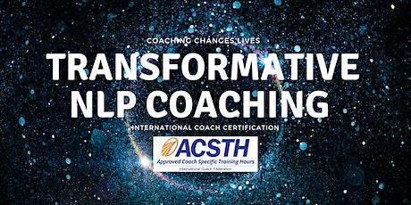 ICF Transformative Neuro Linguistic Programming (NLP)Coaching Certification