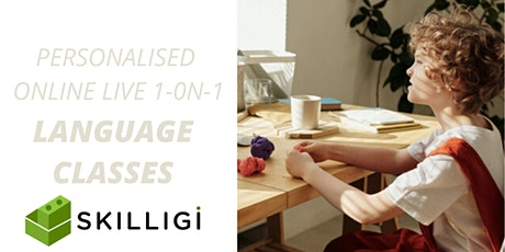 Online Language classes for kids tickets