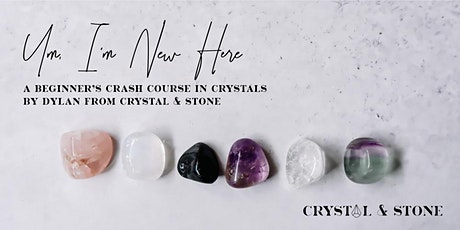 Beginner's Crystal Crash Course - Perth tickets