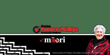 Donna Pokere-Phillips Māori Party | Hauraki-Waikat tickets
