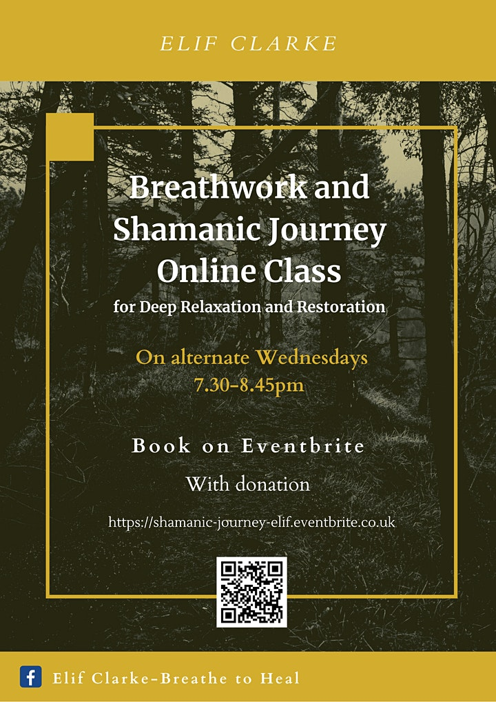 Breathwork and Shamanic Journey Online Class image