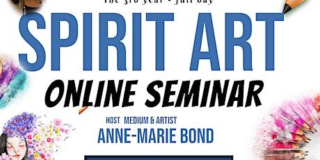 Psychic Art,Spirit Art Demonstration Seminar ArtPortraits and Encuastic Art tickets