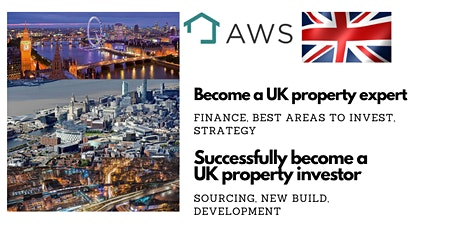 Become a UK property expert and successful investor in the UK tickets