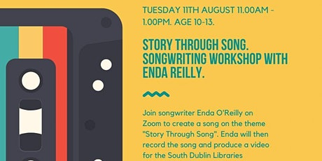 Story Through Song Songwriting Workshop. Age 10-13. tickets