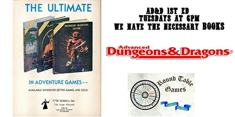 AD&D 1E Tuesdays with Round Table Games tickets