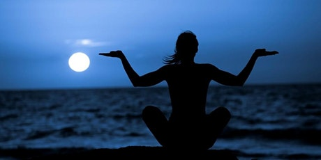 Full Moon Beach Yoga (w/social distancing) TUES., SEPT. 1ST   at 7:00 pm tickets