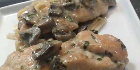 Chicken Marsala Virtual Cooking Class tickets