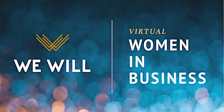 WE WILL Virtual   Women In Business Networking tickets