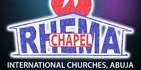 Copy of RHEMA ABUJA CHURCH REOPENING tickets
