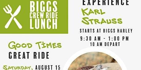 Free Crew Ride to Karl Strauss Carlsbad tickets
