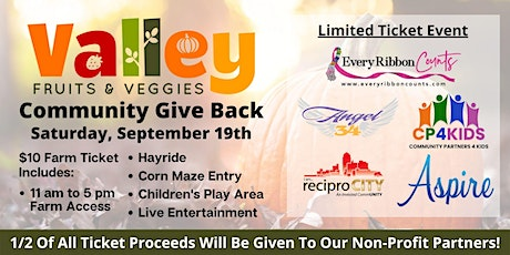 Valley Fruits & Veggies Community Give Back Day! tickets