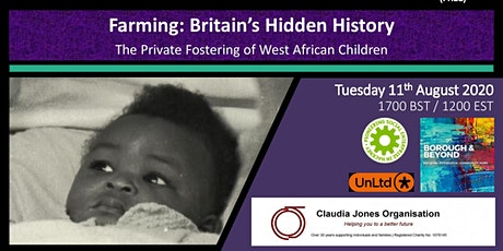 Farming: Britain's History Private Fostering of  West African Children tickets