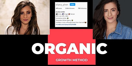 Copy of Instagram Organic Growth Online Training Workshop tickets