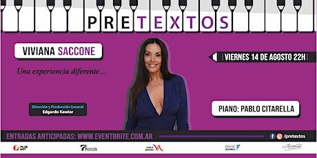 Pretextos con Viviana Saccone y Pablo Citarella entradas
