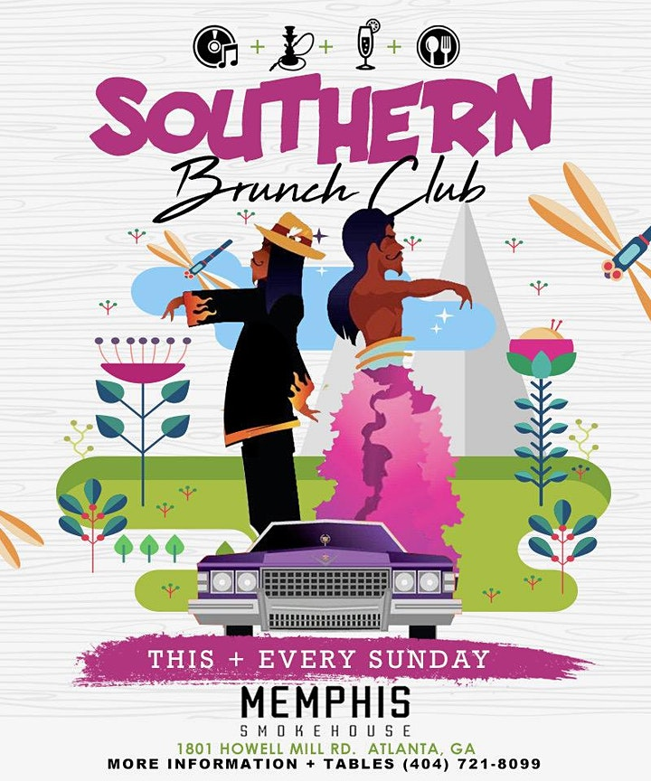 SOUTHERN BRUNCH CLUB EACH AND EVERY SUNDAY AT MEMPHIS SMOKEHOUSE image