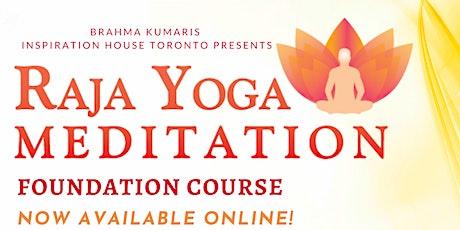 Raja Yoga Meditation - English Online Course (9 weeks)