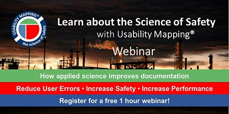 Usability Mapping Awareness Presentation   1 hour Webinar   5-6pm CEST tickets