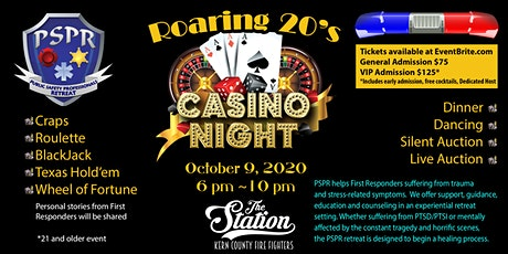 Public Safety Professionals - Roaring 20's Casino Night at The Station tickets