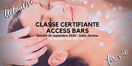 CLASSE CERTIFIANTE ACCESS BARS billets