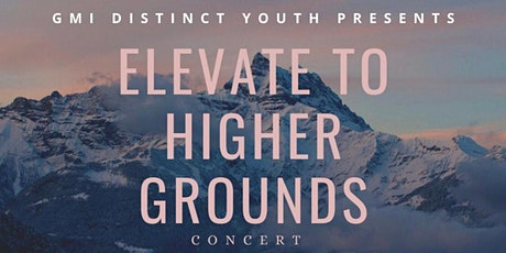 Virtual Youth Concert: Elevate to Higher Ground tickets