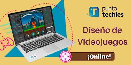 Diseño de Videojuegos ONLINE para chicos de 11 a 17 años (12 clases) entradas